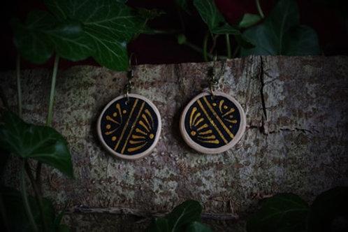 Boucles d'oreilles - Or des Balkans - Modèle 1