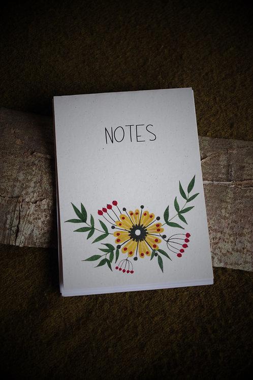 Bloc-notes fait main - Zheltyy