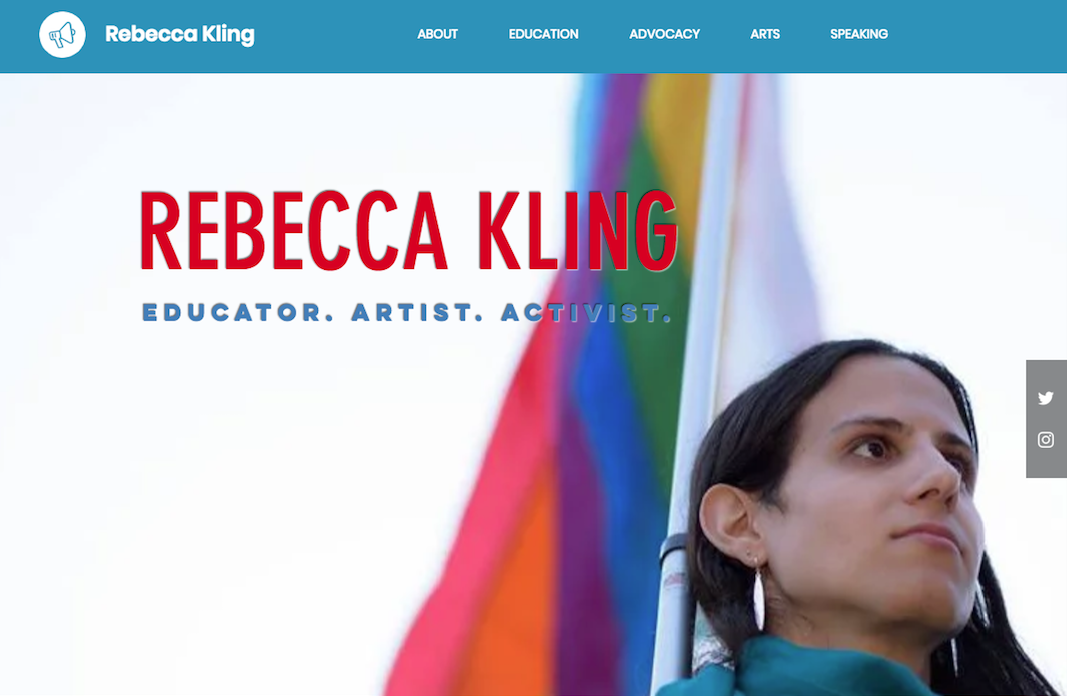 Rebecca Kling: Education & Advocacy