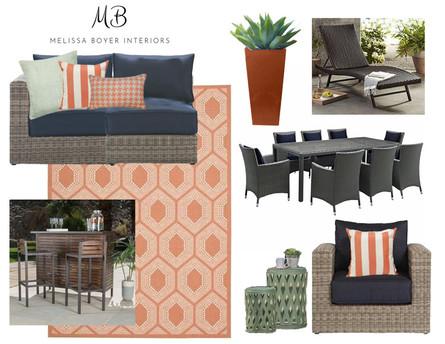 Melissa Boyer Interiors, Virtual Design Floorplan