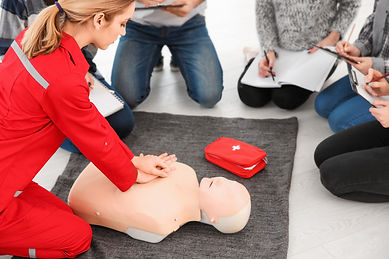 CPR AED and First AId