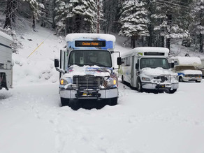 Service CANCELLED due to Winter Road conditions