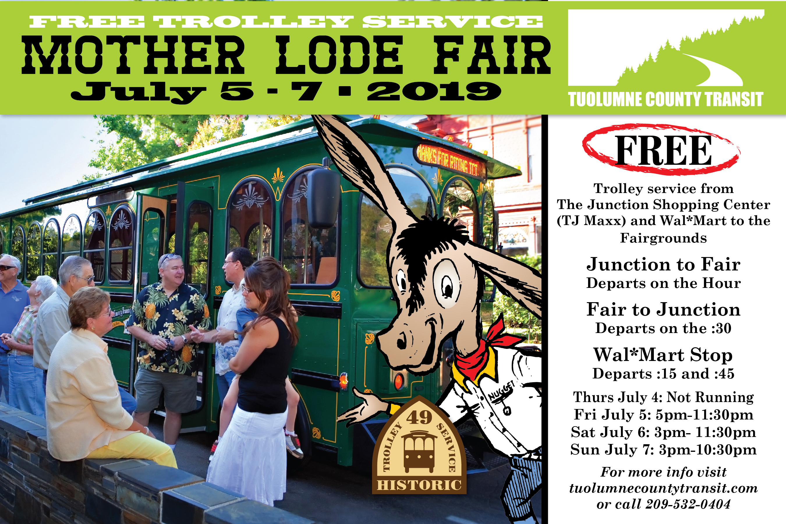 Mother Lode Fair Service   Public Transportation   United