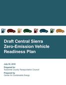 Draft Central Sierra Zero Emission Vehicle (ZEV) Readiness Plan