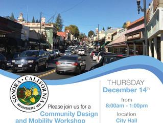 Washington Street Improvement Project -  Public Workshop on Dec 14th