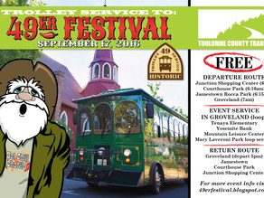 The Trolley goes to Groveland!