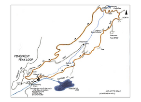 Pinecrest Peak Loop