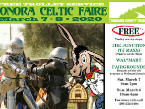 Trolley to the Celtic Fair----->Charge!