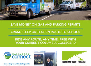 Columbia College Students Ride FREE