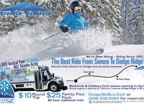 SkiBUS is snow bound this weekend