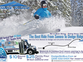 SkiBUS is snow bound this weekend