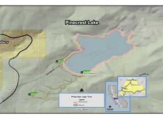 Pinecrest Lake Loop