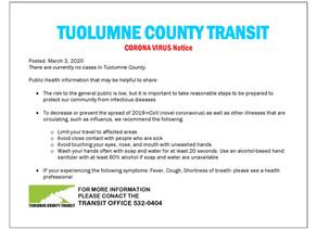 Corona Virus (COVID-19) Notices
