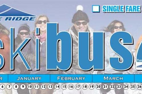 SkiBus Ticket