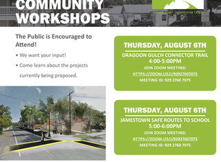 Active Transportation Application (Digital) Community Workshops, August 6th