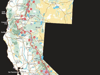 Pacific Crest Trail Map Overview