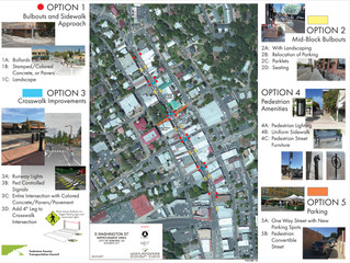 Provide Input on the Washington Street Improvements Project