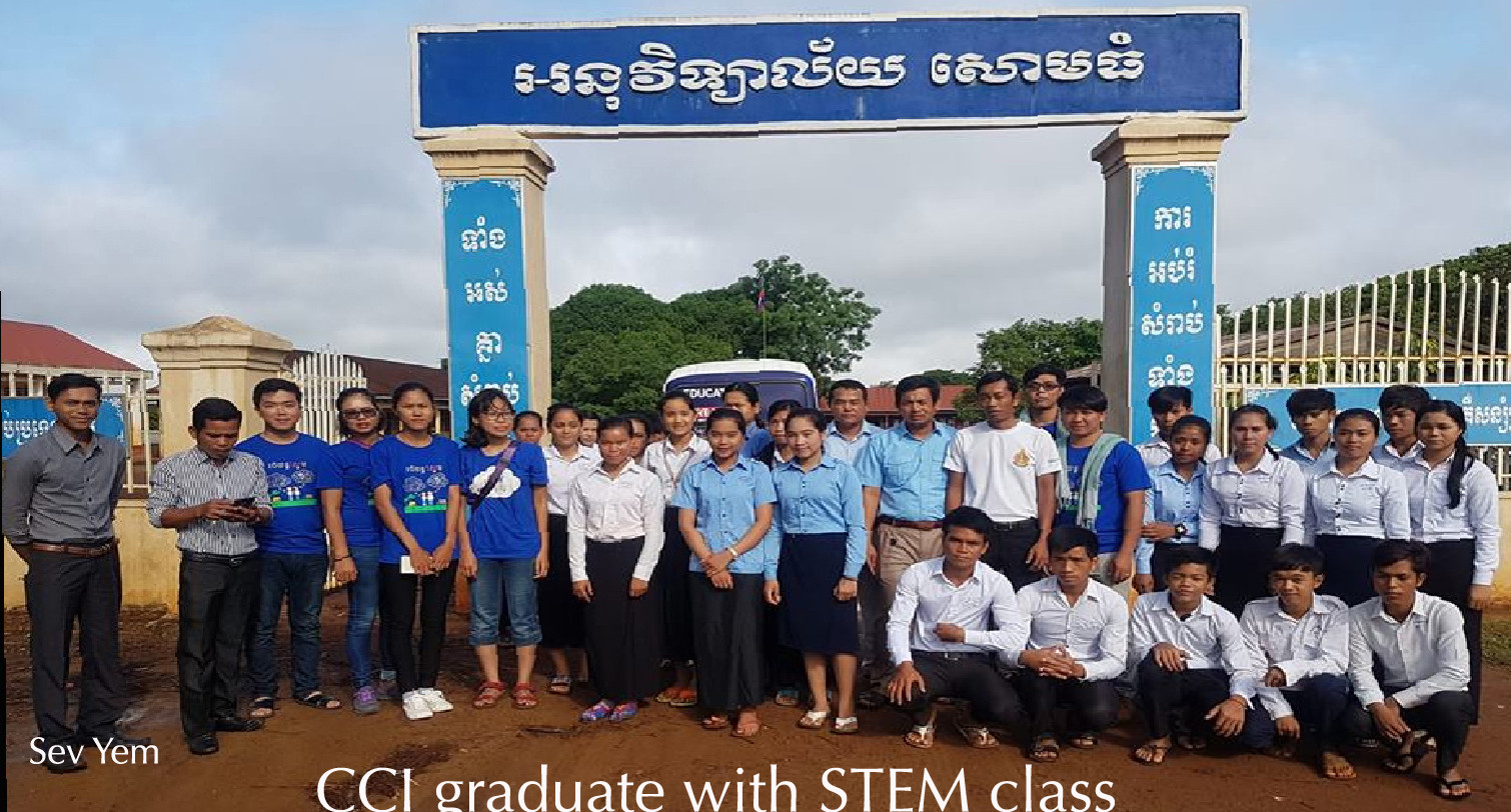 CCi Graduate with STEM Class