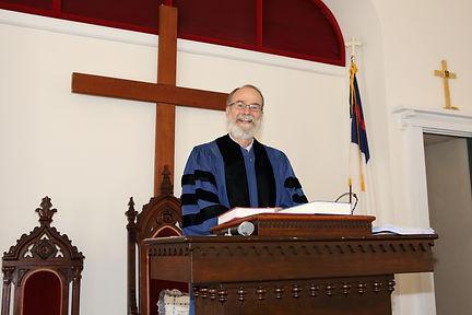 Reverend Alan Scott - Pastor Alan Scott