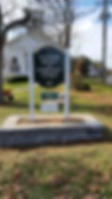 Church Sign - Fall, 2014