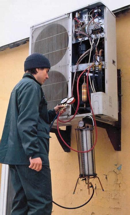 Ремонт и сервисное обслуживание кондиционера