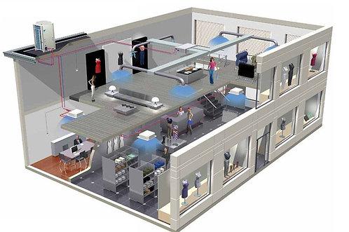 Вентиляция торговых центров и офисных зданий