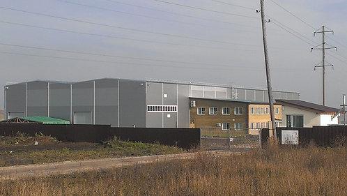 Завод для изготовления  конструкций для домостроен