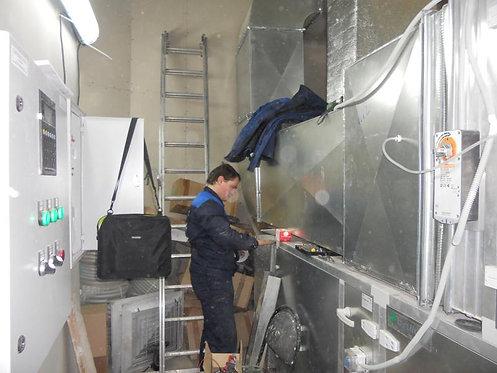 Ремонт и сервисное обслуживание вентиляции