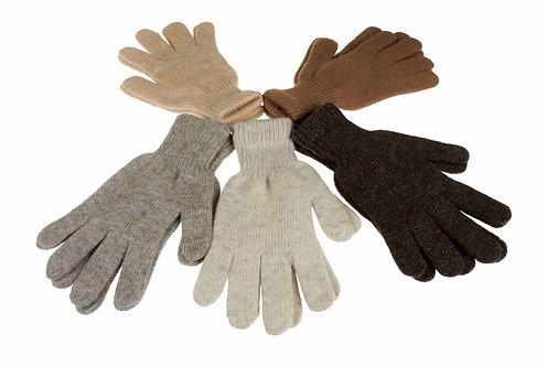 Перчатки из шерсти верблюда или пухом яка