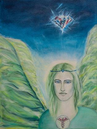 Engel Raphael mit Seelenpartnerin Lady Venus