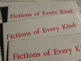 Fictions of Every Kind: Flux, Monday Sept 26th