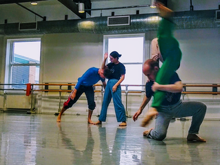 teaching repertoire at Northern School Of Contemporary Dance