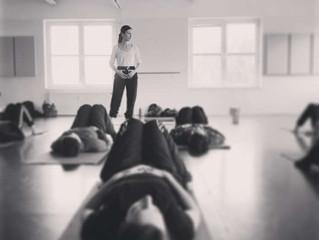 teaching at SOAKED - Berlin dance intensive
