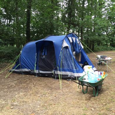Camping gear ready!