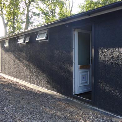 Modern composting toilets