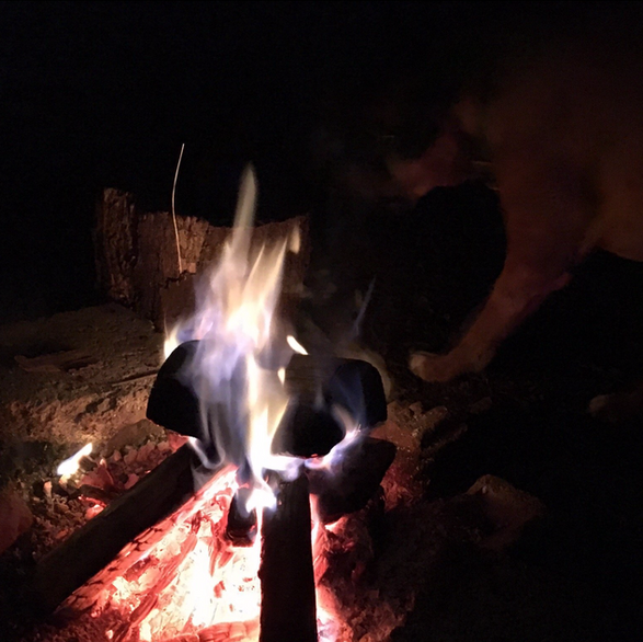 Woodfire camping