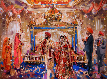Gurdwara wedding