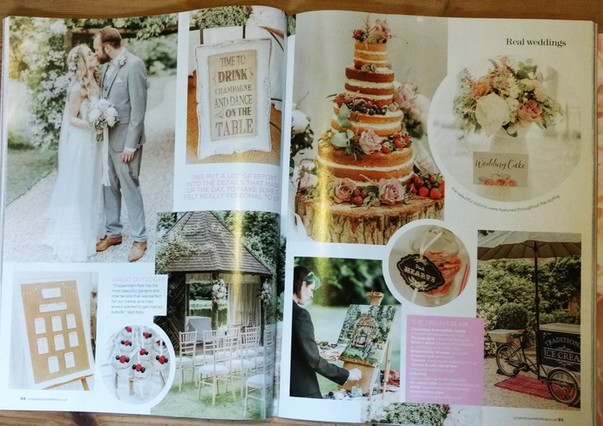 Featured in You and Your Wedding