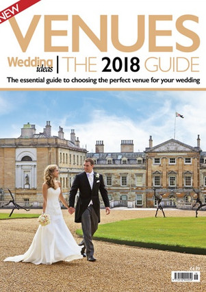 Featured in Wedding Ideas 2018 venue guide