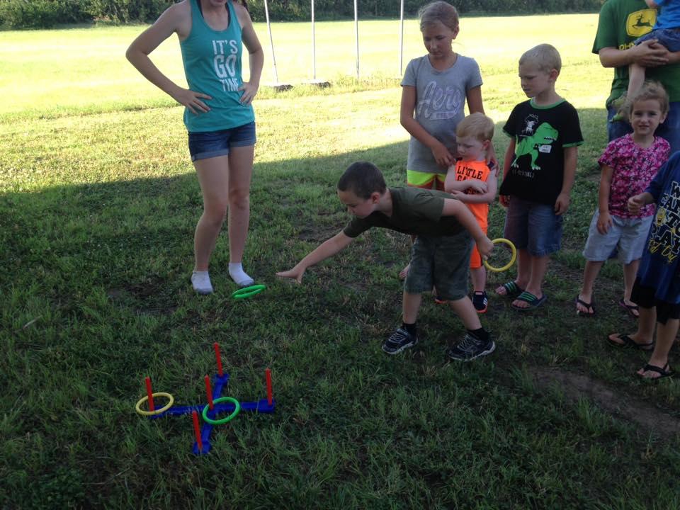 kids toss-rings