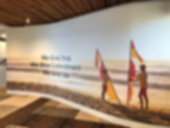 Noosa Heads Surf Club Lifesaving Wall