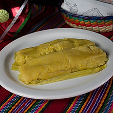 Tamalitos de Elote - Corn Tamale