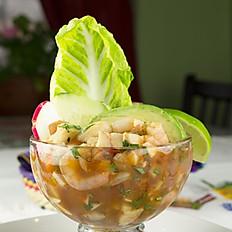 Ceviche de Camarón - Shrimp Ceviche