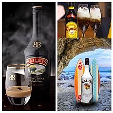 Kahlua, Baileys & Malibu Drinks