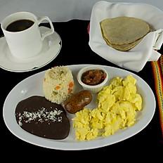 Desayuno con Longaniza
