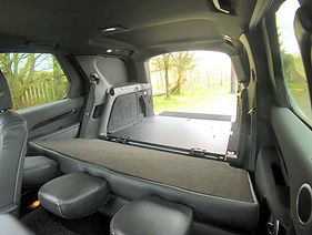 Discovery seats folded down example