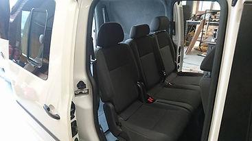VW Caddy Maxxi Seats