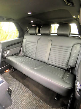 Example image of rear Land Rover discovery seats