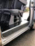 van seat flat floor mounting