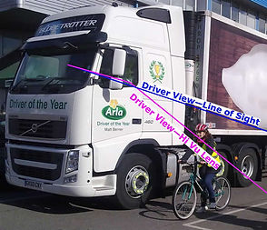 Fresenel lens lorry view